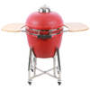 Classic 22inch Red Egg Type Ceramic Kamado Grill MCD2200G